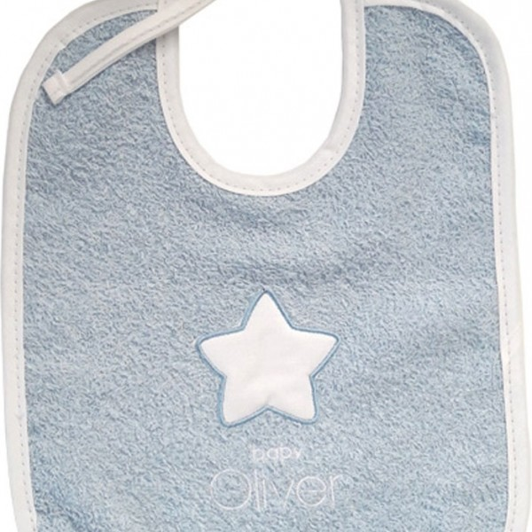 Σαλιάρα Baby Oliver Little Blue Joy 303