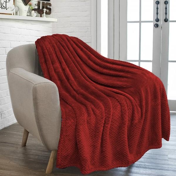 Κουβέρτα Flannel Μονή...