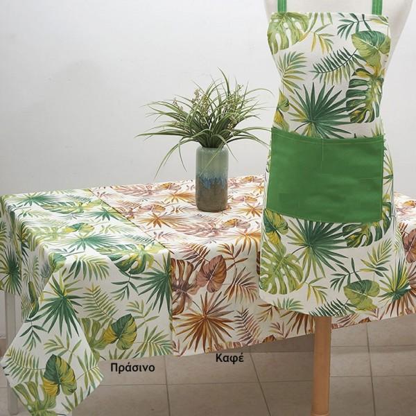 Τραπεζομάντηλο 150x280 Λονέτα Ilis Home Liberia Πράσινο