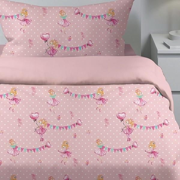 Κουβερλί Παιδικό Σετ 155x255 Cotton Feelings 30 Sunshine - 1