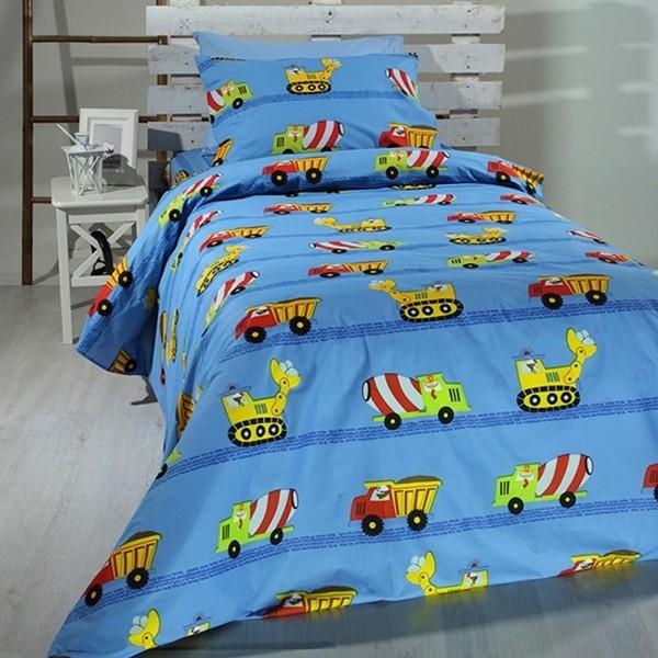 Κουβερλί Παιδικό Σετ 155x255 Cotton Feelings 9010