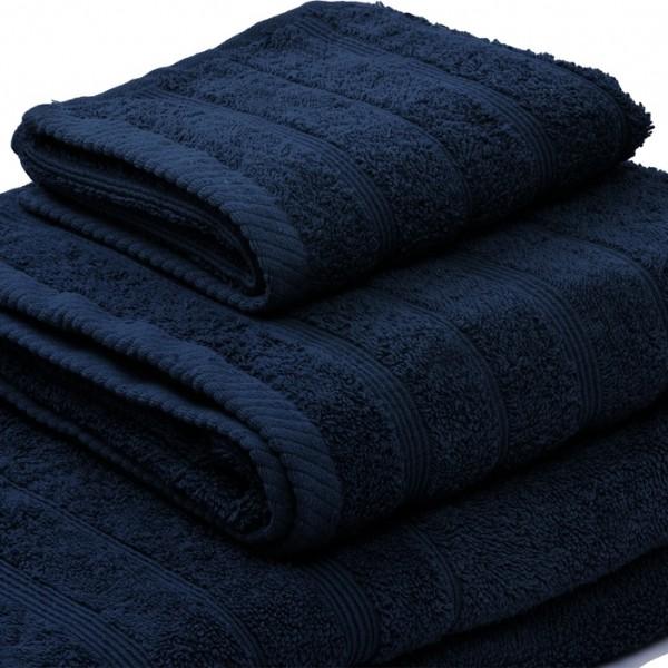 Πετσέτα Προσώπου Μονόχρωμη 50x90 Μπλε Marwa - 1