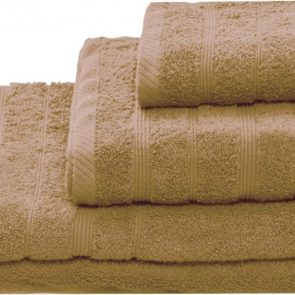 Πετσέτα Προσώπου Μονόχρωμη 50x90 Μπεζ Marwa - 1