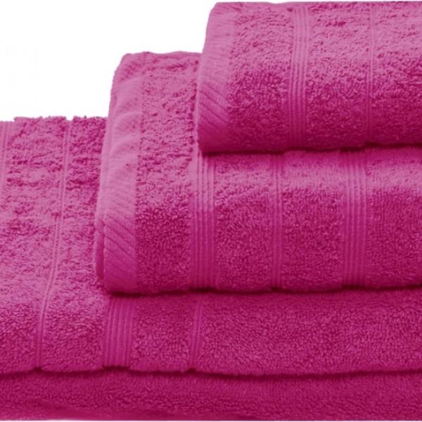 Πετσέτα Σώματος Μονόχρωμη 80x150 Φούξια