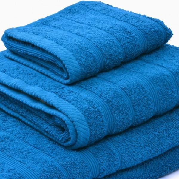 Πετσέτα Προσώπου Μονόχρωμη 50x90 Τυρκουάζ Marwa - 1