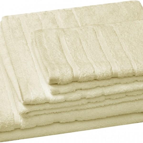 Πετσέτα Χεριών Μονόχρωμη 30x50 Εκρού Marwa - 1