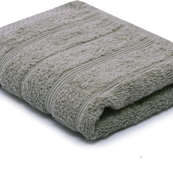 Πετσέτα Χεριών Μονόχρωμη 30x50 Γκρι Marwa - 1