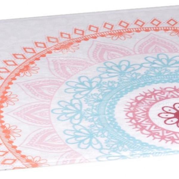 Πατάκι Μπάνιου 45x75 Mandala Flamingo - 1