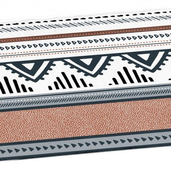 Πατάκι Μπάνιου 45x75 Ethnic Folk Flamingo - 1