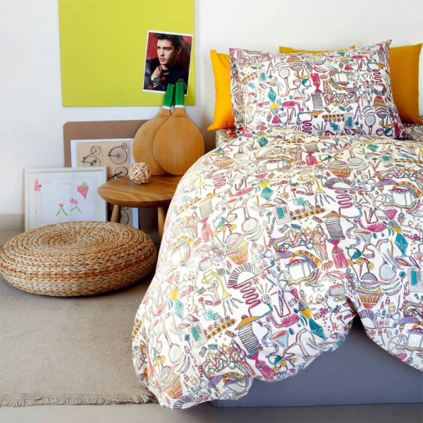 Παπλωματοθήκη Παιδική 165x240 Melinen Kids Dream Maker Girl Melinen - 1