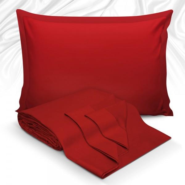Μαξιλαροθήκες Ζεύγος 50x70 Maison Blance 62017 Red Maison Blanche - 1