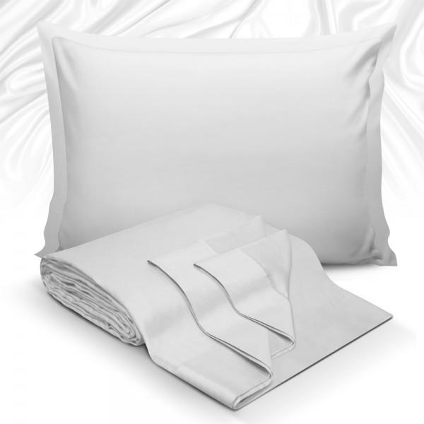 Μαξιλαροθήκες Ζεύγος 50x70 Maison Blance 62017 Silver Maison Blanche - 1
