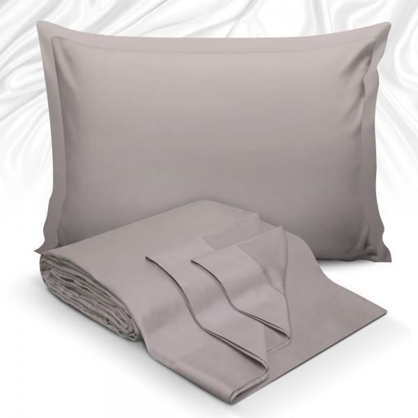 Μαξιλαροθήκες Ζεύγος 50x70 Maison Blance 62017 Grey Maison Blanche - 1