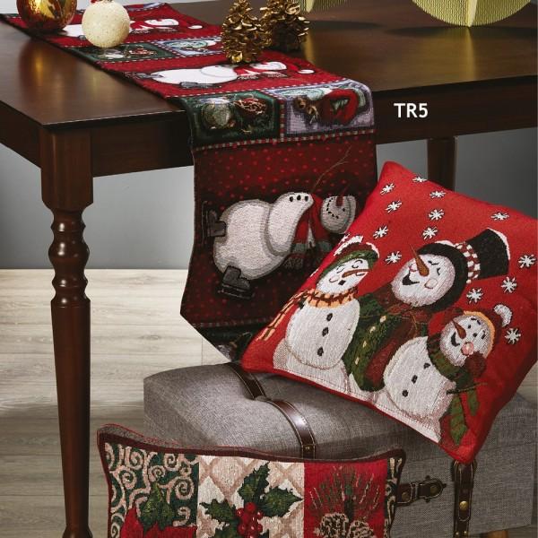 Χριστουγεννιάτικη Τραβέρσα 33x170 White Egg TR5 White Egg - 1