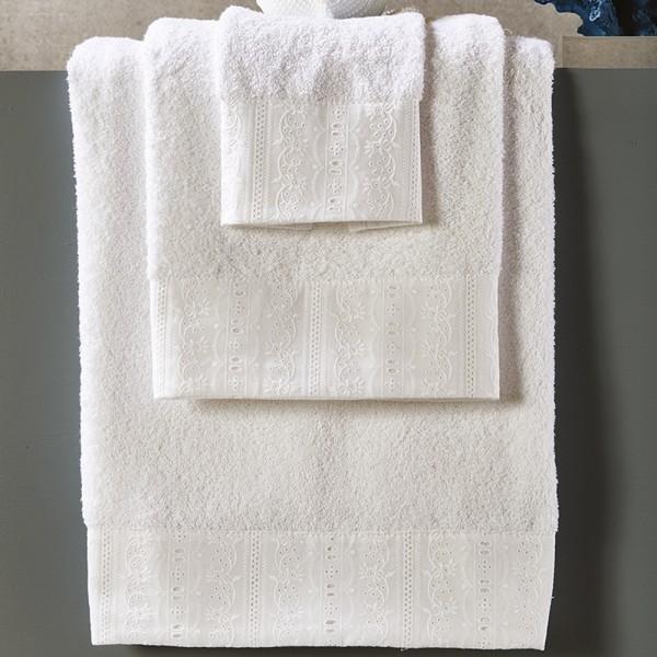 Πετσέτες Μπάνιου Σετ 3Τμχ White Egg SP1 White Egg - 1