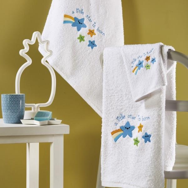 Πετσέτες Παιδικές Σετ 3Τμχ White Egg SP40 White Egg - 1
