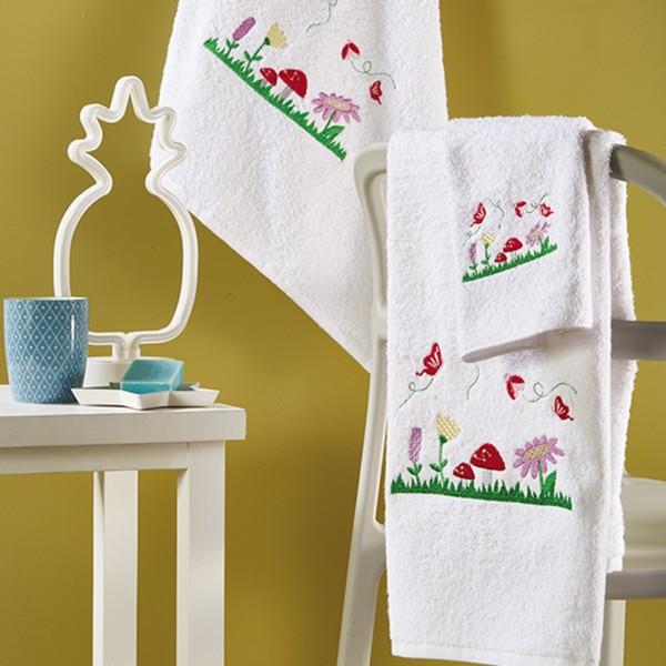 Πετσέτες Παιδικές Σετ 3Τμχ White Egg SP44 White Egg - 1