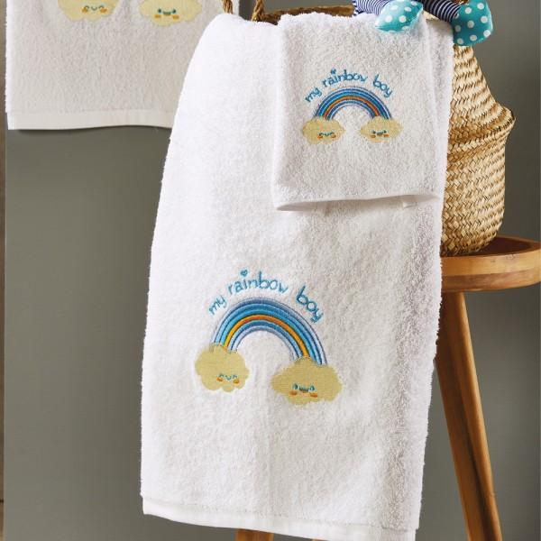 Πετσέτες Παιδικές Σετ 3Τμχ White Egg SP46/1 White Egg - 1