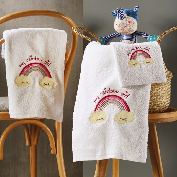 Πετσέτες Παιδικές Σετ 3Τμχ White Egg SP46/2 White Egg - 1