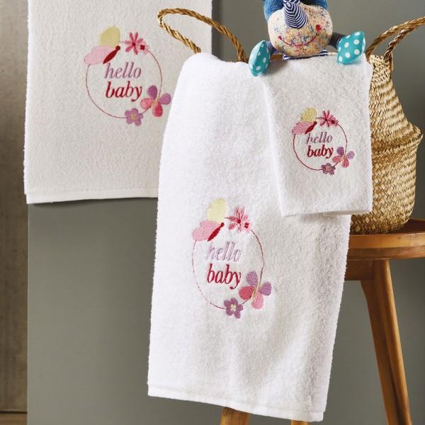 Πετσέτες Παιδικές Σετ 3Τμχ White Egg SP48 White Egg - 1
