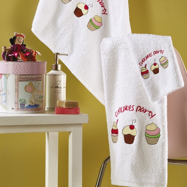 Πετσέτες Παιδικές Σετ 3Τμχ White Egg SP50 White Egg - 1