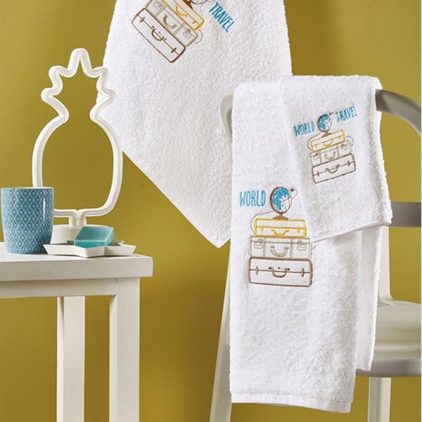 Πετσέτες Παιδικές Σετ 3Τμχ White Egg SP51 White Egg - 1