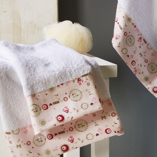 Πετσέτες Παιδικές Σετ 3Τμχ White Egg SP23/1 White Egg - 1