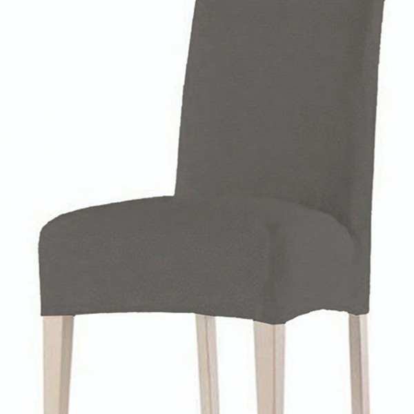 Κάλυμμα Καρέκλας Ελαστικό Χωρίς Βολάν Rust Grey Sunshine - 1