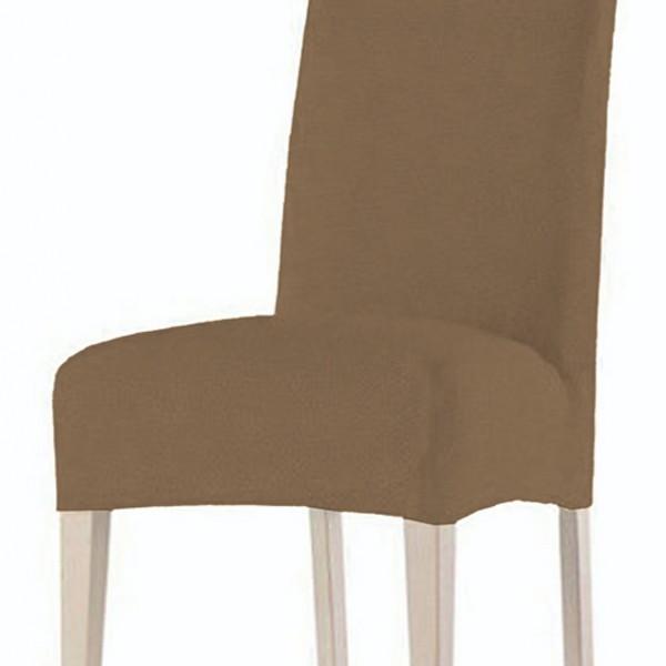 Κάλυμμα Καρέκλας Ελαστικό Χωρίς Βολάν Rust Tobacco Sunshine - 1