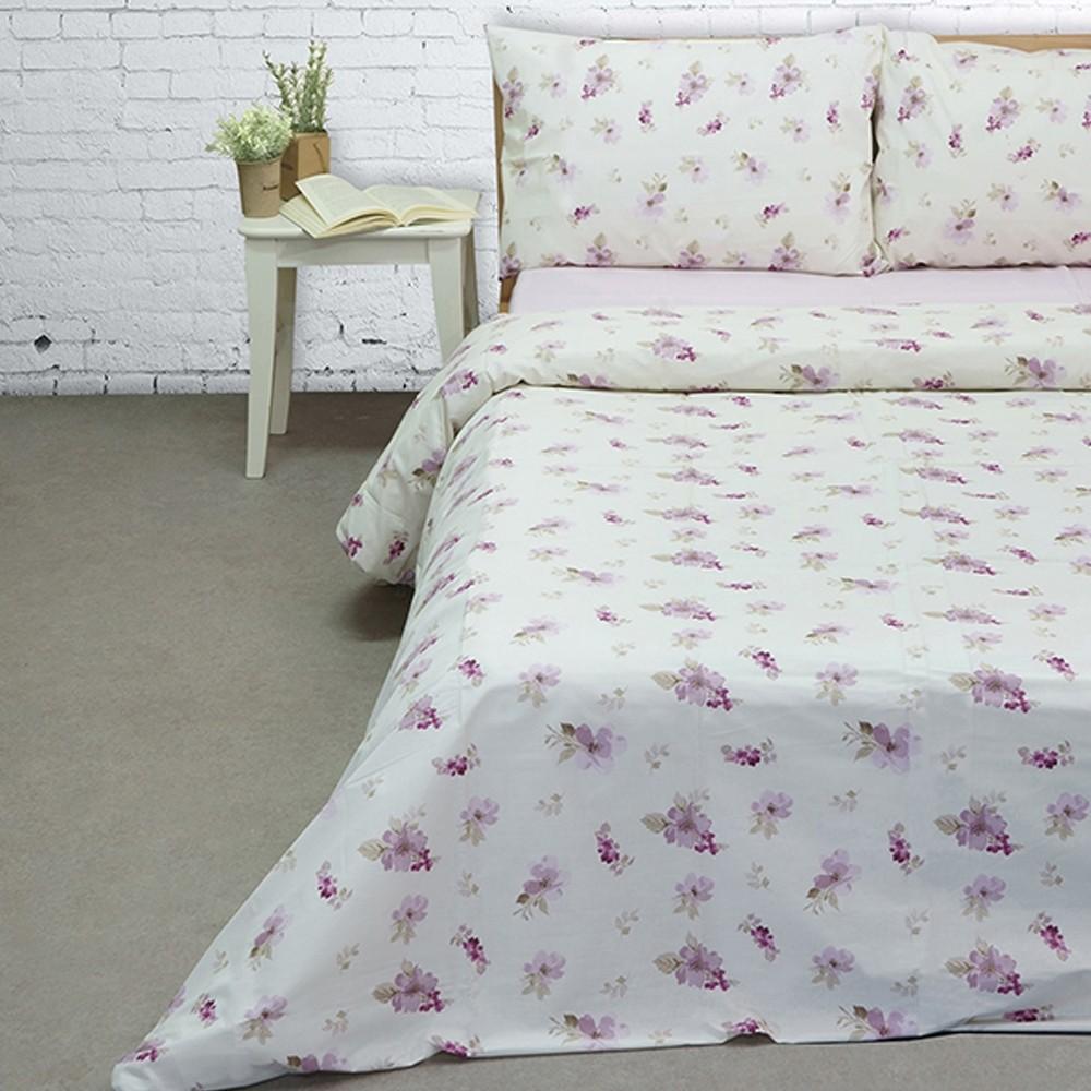Πάπλωμα Υπέρδιπλο Σετ 225x255 Cotton Feelings 2030 Lilac Sunshine - 1