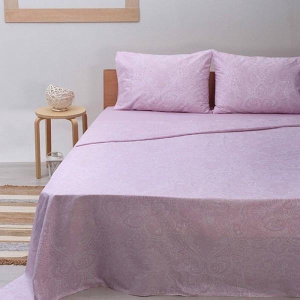Μαξιλαροθήκες Ζεύγος 50x70 Sunshine Cotton Feelings 1226 Pink Sunshine - 1