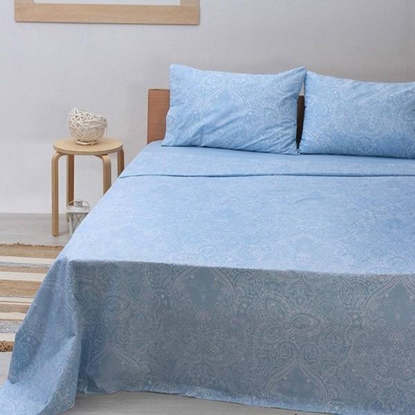 Μαξιλαροθήκες Ζεύγος 50x70 Sunshine Cotton Feelings 1226 Blue Sunshine - 1