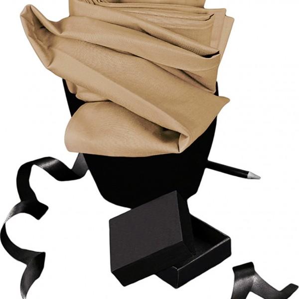 Σεντόνι Μονόχρωμο Μεμονωμένο Μονό Με Λάστιχο 100x200+30 Melinen Urban Beige Melinen - 1