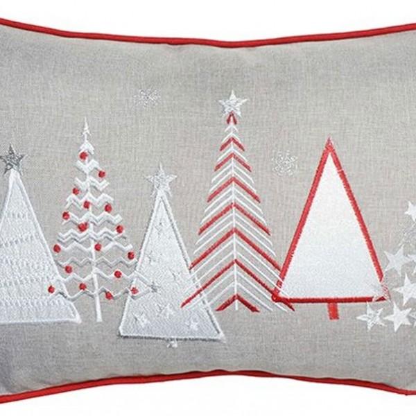 Χριστουγεννιάτικη Διακοσμητική Μαξιλαροθήκη 30x45 Ilis Home 16654 Ilis Home - 1