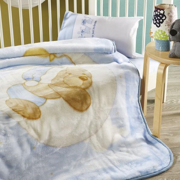 Βρεφική Κουβέρτα Βελουτέ...