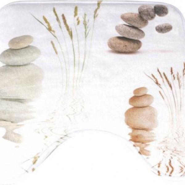 Πατάκι Λεκάνης 45x45 Stones