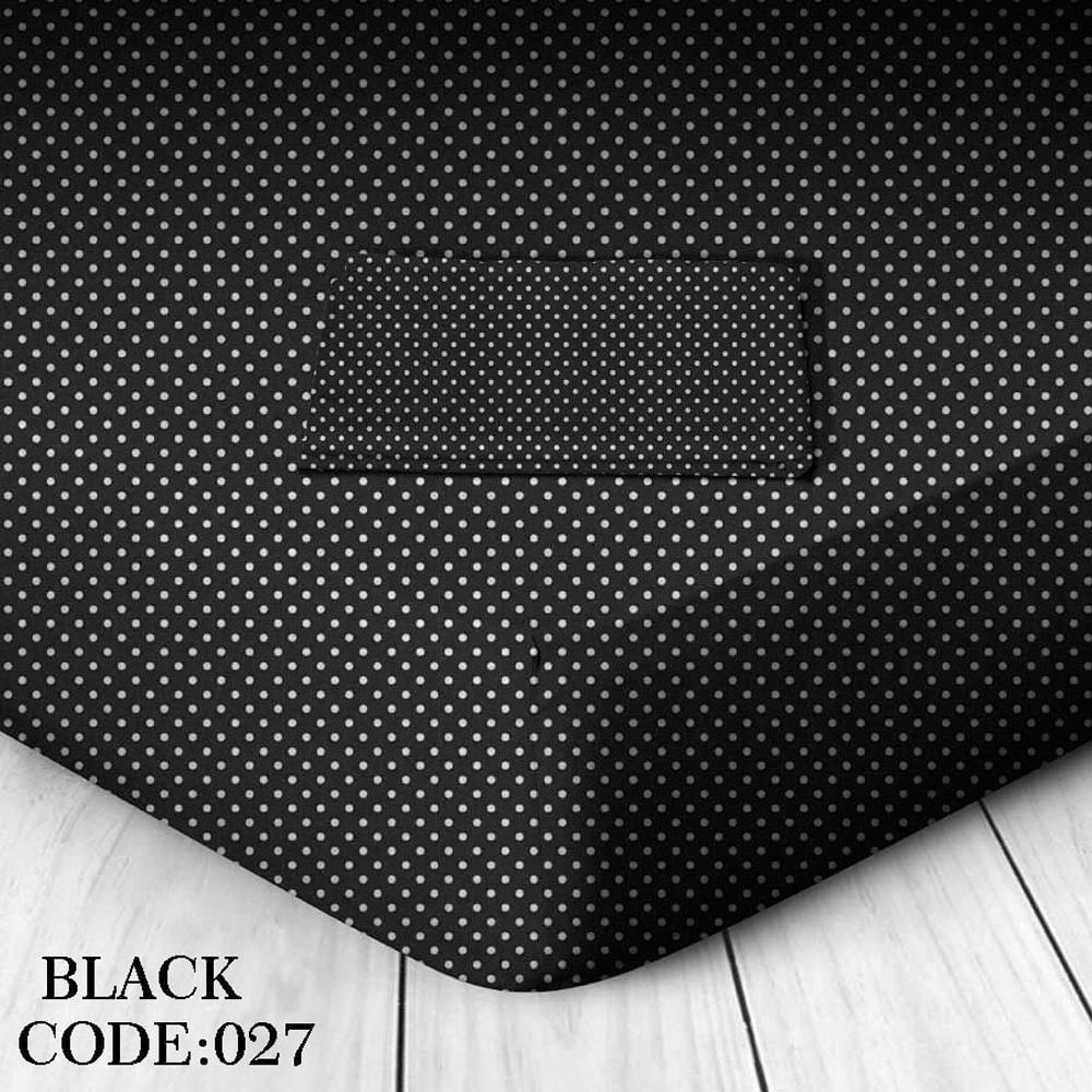 Μαξιλαροθήκες Ζεύγος 50x70 42157120 027 Πουά Μαύρο